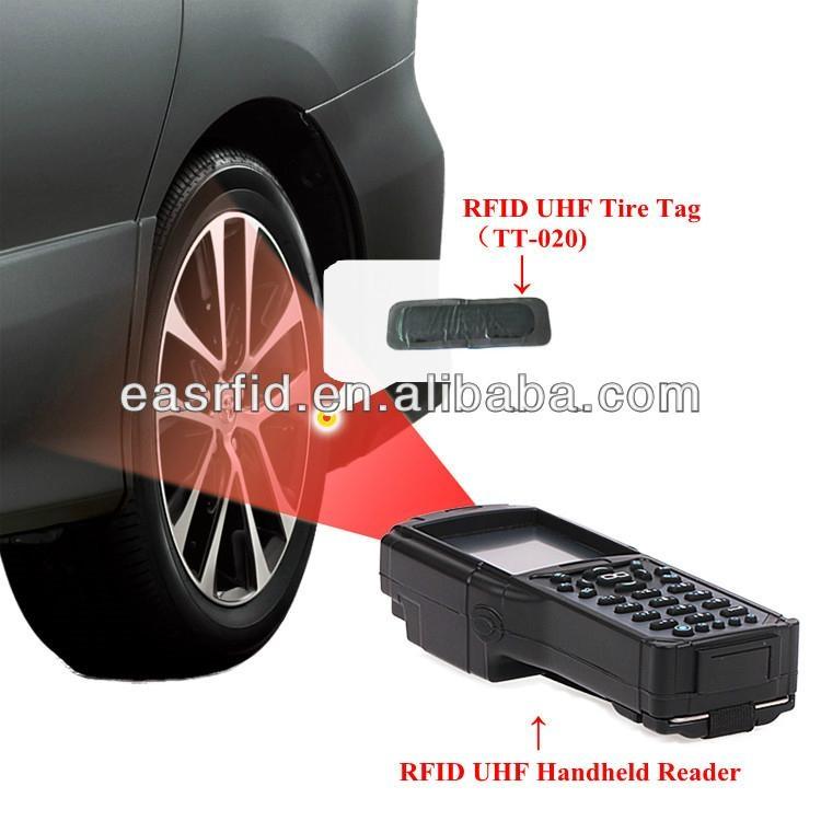 RFID 超高頻 車輛管理 輪胎管理 輪胎標籤 3