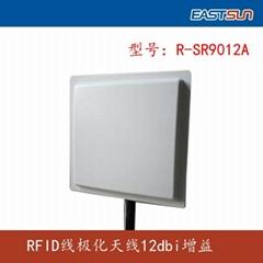 860-960MHz UHF RFID 12dBi gain Linear Polarization antenna