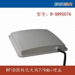 7dbi / 9 dbi gain antenna RFID UHF circular polarization antenna