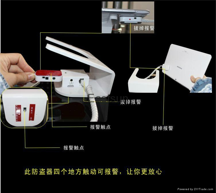 anti-theft alarm stand for tablet pc