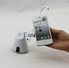 Mobile phone anti-theft security display stand with mouse sensor
