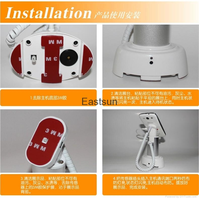 mobile phone alarm stand