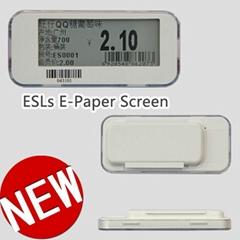 可显示价格名称条码 电子价格标签,超市货架标签,电子纸标签