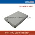Close read range RFID UHF desktop reader