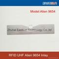 干/湿 inlay标签 RFID超高频标签9654