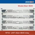 Alien 9640 inlay with UHF Alien higgs-3 chip for RFID Asset management