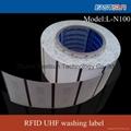 RFID UHF waterproof Woven washing Label