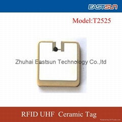 陶瓷標籤RFID抗金屬標籤T2525
