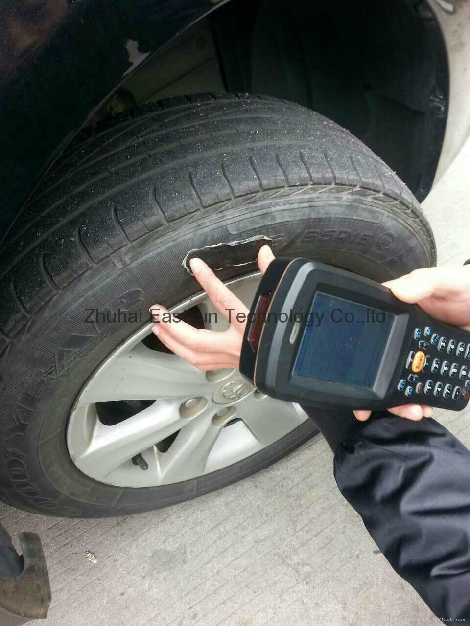 RFID 超高頻 車輛管理 輪胎管理 輪胎標籤 5