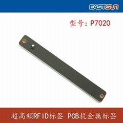 EPC Class1 Gen2  UHF PCB RFID tag mounted on metal surface