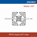 High performance Impinj H47 Wet/dry