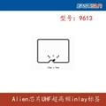 RFID标签 RFID高频标签 干/湿inlay标签9713