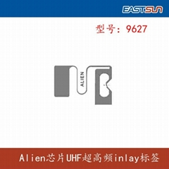 Long range passive rfid tag alien inaly with H3 IC Alien 9627