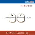 High quality uhf ceramic rfid tag with