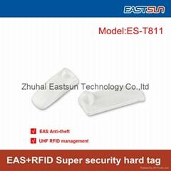 重複使用的超市儿童服裝防盜硬標籤 EAS+UHF