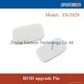 EAS+UHF超高频RFID升级针 服装防盗标签华丽变身