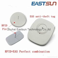 UHF needle with EAS secu