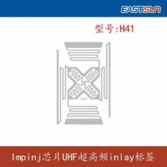 UHF RFID Impinj inlay H4