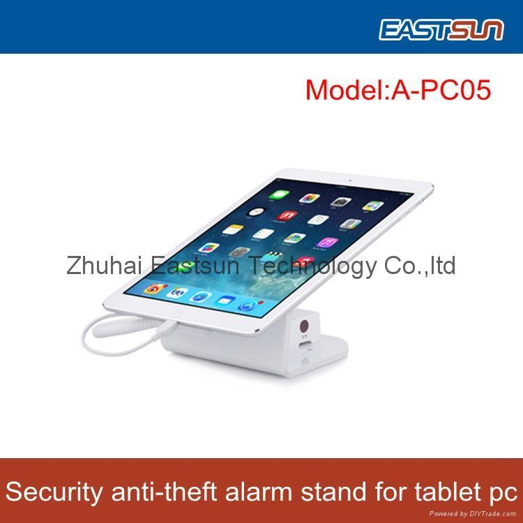 security display alarm Aluminium stand for ipad tablet pc