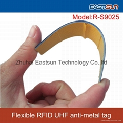 China Long range RFID UHF flexible anti-metal tag for outdoor asset management