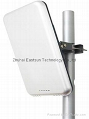 RFID UHF Medium read range integrated reader with 7dbi antenna for warehouse