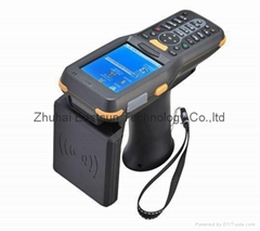 Windows CE6.0 OS UHF Handheld Reader support Wifi,GPRS,GPS,1D & 2D barcode