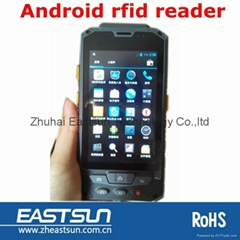 RIFD UHF Android operation system Handheld Reader larger than 3 meters
