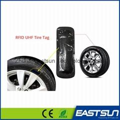 UHF超高頻射頻標籤用於輪胎庫存管理運輸管理的RFID標籤 橡膠材質
