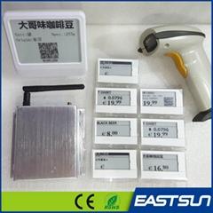 electronic shelf label demo kit for customer testing