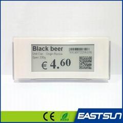 数字价格标签lcd 电子货架标