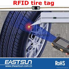 915MHz超高频嵌入式轮胎标签 用于轮胎生产管理的射频卡 车辆管理
