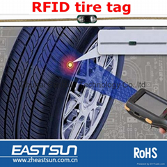 China manufacturer RFID 3.7 mm width Spring tire tag