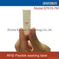 UHF flexible washing label RFID laundry