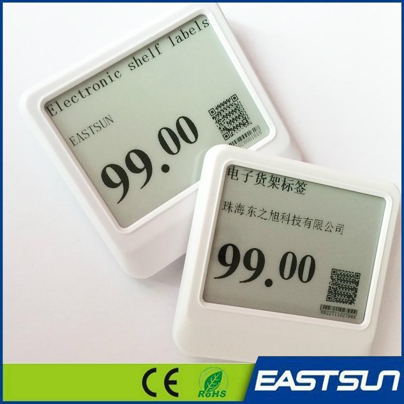 """无线电子墨水2.1""""超市价格标签节省成本 13"""