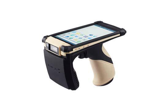 便携式手持机  无线手持pos终端 手持uhf rfid读卡器 1