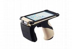 最新款 便攜式手持機  無線手持pos終端手持uhf rfid讀卡器