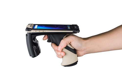 便携式手持机  无线手持pos终端 手持uhf rfid读卡器 3
