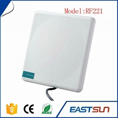 plastic cement white rfid wireless contactless card rfid reader