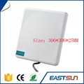 plastic cement white rfid wireless contactless card rfid reader 6