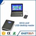 USB桌面超高频发卡器读写器  可读可写