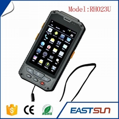 Black rfid reader for data collection terminal