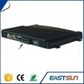 230mm x 160mm x 28mm 4 ports UHF rfid reader rfid card 4