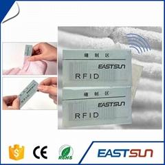 織嘜rfid抗彎曲定製服裝標籤