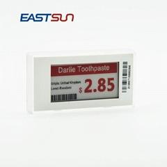 """无线电子墨水2.1""""超市价格标签节省成本"""