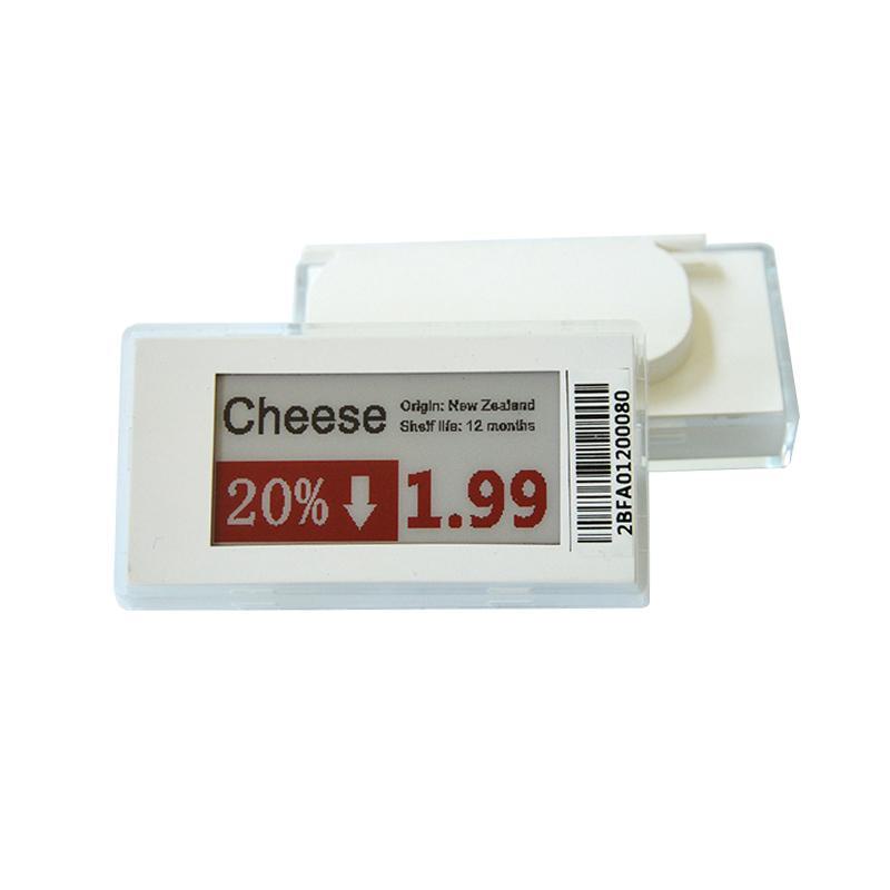 2.1英寸 电子纸屏连锁店货架标签 商品标价改价 ESL电子标签 4