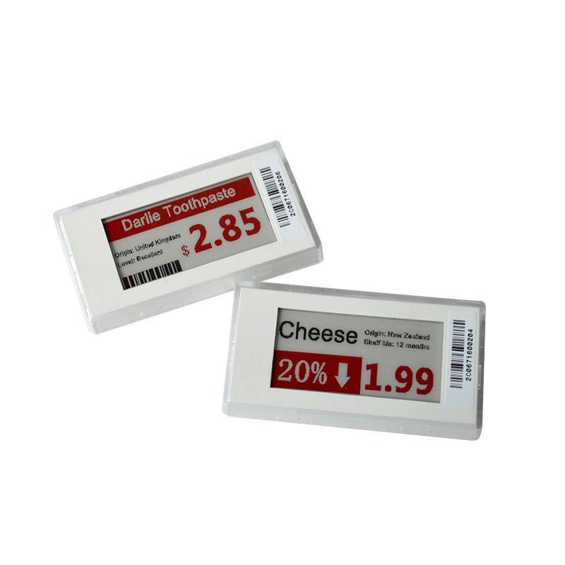 2.1英寸 电子纸屏连锁店货架标签 商品标价改价 ESL电子标签 7