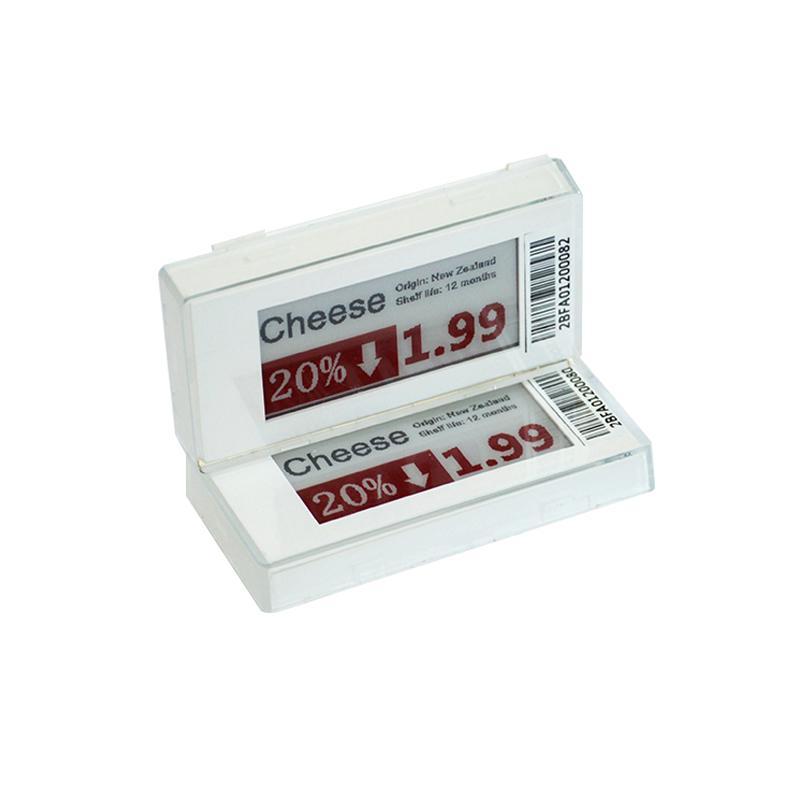 2.1英寸 电子纸屏连锁店货架标签 商品标价改价 ESL电子标签 8