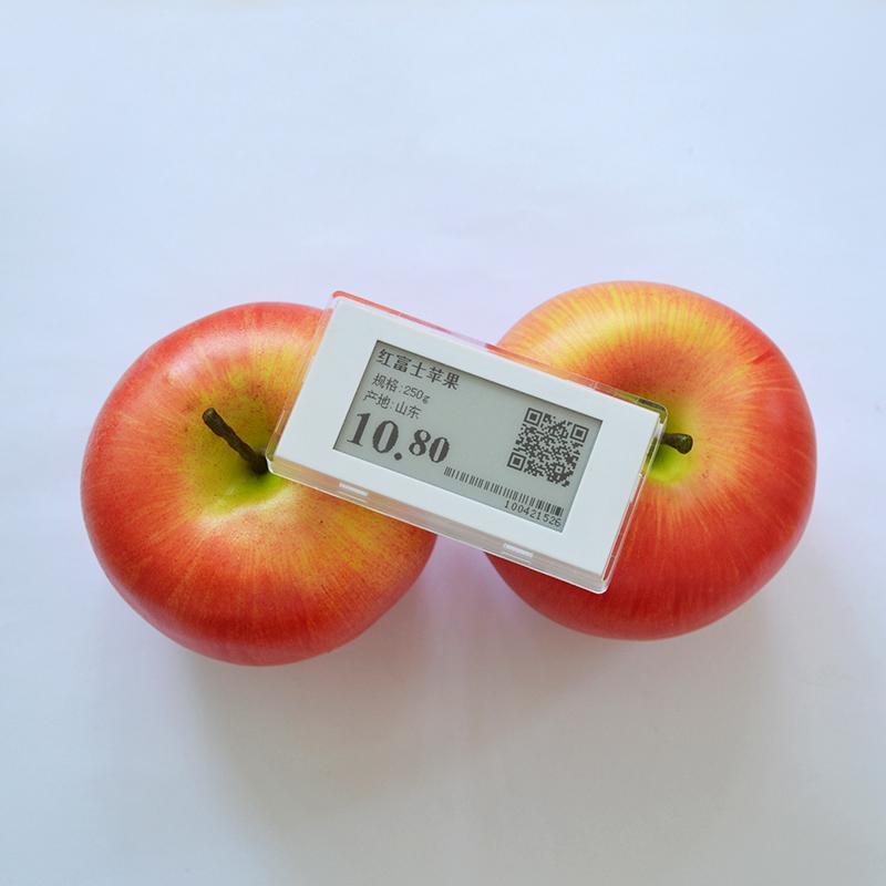 2.1英寸 电子纸屏连锁店货架标签 商品标价改价 ESL电子标签 16