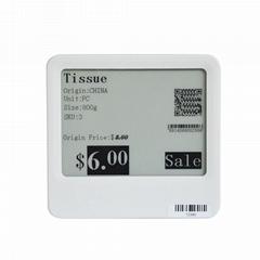 大屏幕电子墨水显示屏超市显示电子价格标签