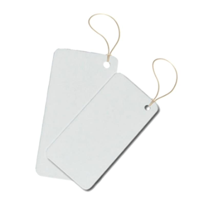 840-960MHZ paper labels garment hang tags for shopping mall 4